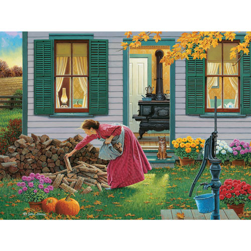 Gathering 300 Large Piece Jigsaw Puzzle