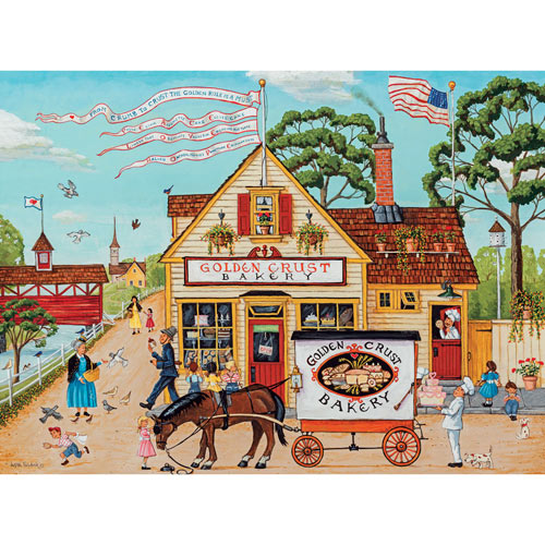Golden Crust Bakery 500 Piece Jigsaw Puzzle