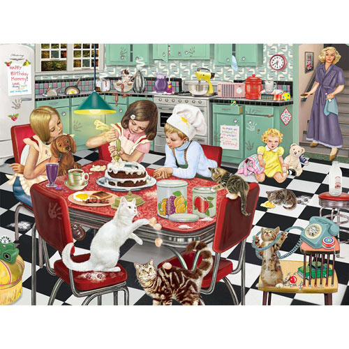 Mommy's Birthday Surprise 300 Large Piece Jigsaw Puzzle