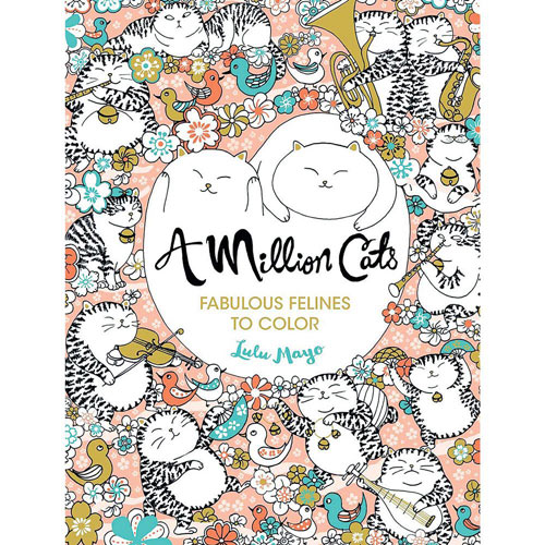 A Million Cats Colouring Book