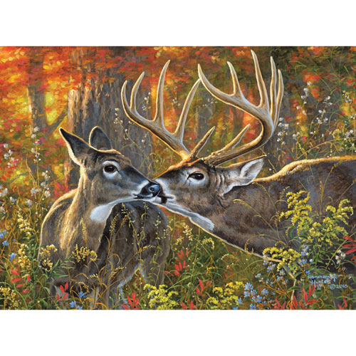 Love Is In the Air 500 Piece Jigsaw Puzzle