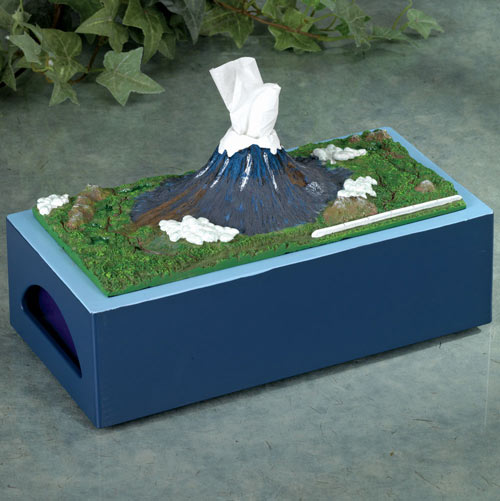 Mt. Fuji Tissue Holder