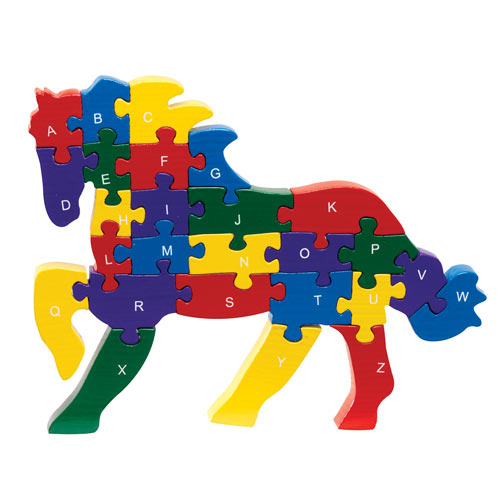 Galloping ABC Horse Puzzle
