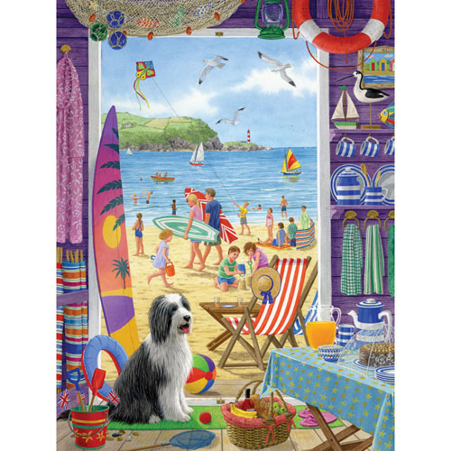 The Beach Shack 500 Piece Jigsaw Puzzle