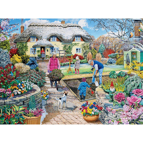 Winter Garden 300 Large Piece Jigsaw Puzzle
