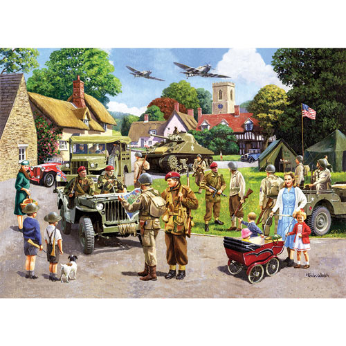 D Day Preparations 1000 Piece Jigsaw Puzzle