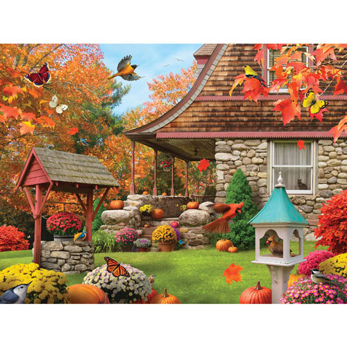 Grazing the Fertile Farmland 500 Piece Jigsaw Puzzle