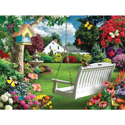 Moonlight Splendor 500 Piece Jigsaw Puzzle