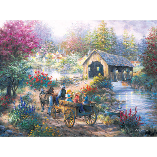 Merriment 1000 Piece Jigsaw Puzzle