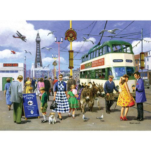 Vintage Blackpool 1000 Piece Jigsaw Puzzle