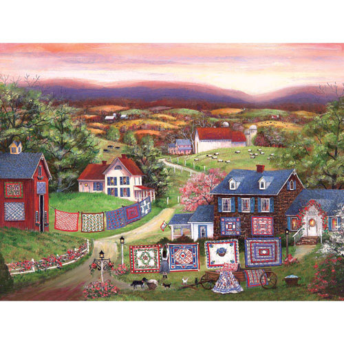 Crazy for Quilts 500 Piece Jigsaw Puzzle