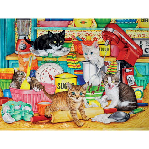 Kitchen Tails 1000 Piece Jigsaw Puzzle