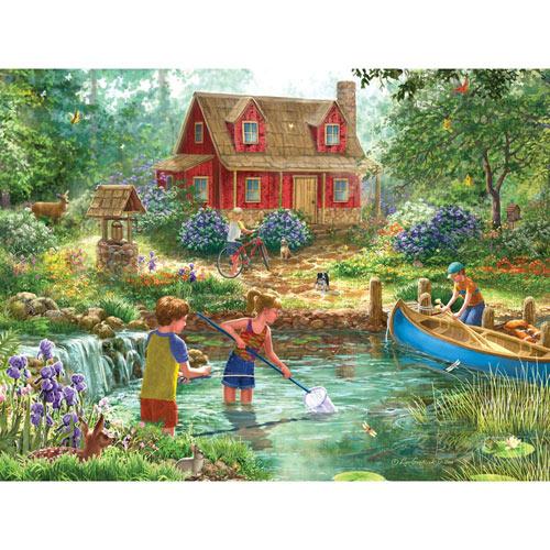 Summer Retreat 500 Piece Jigsaw Puzzle