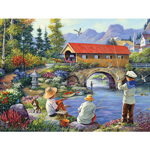 Good Neighbors 300 Large Piece Jigsaw Puzzle