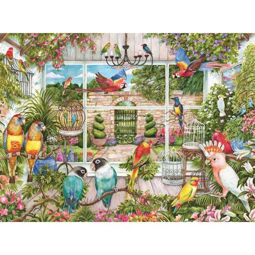 Bird House 300 Large Piece Jigsaw Puzzle