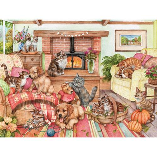 Cozy Corner 1000 Piece Jigsaw Puzzle