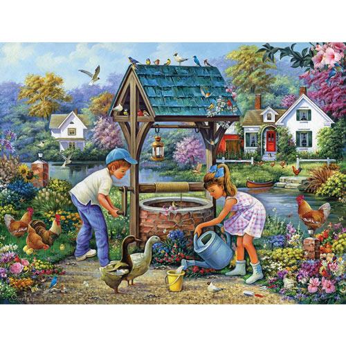 The Garden Gates 1000 Piece Jigsaw Puzzle