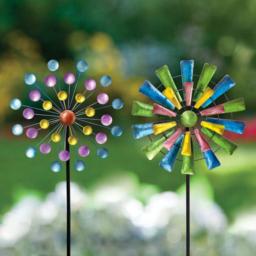 Set of 2: Dots & Paddle Mini Spinners