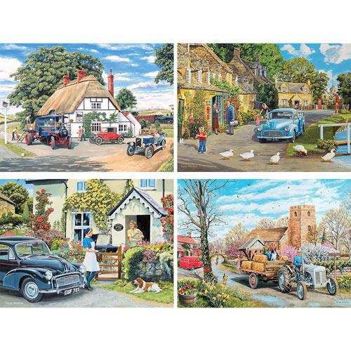 Set of 4: Trevor Mitchell 1000 piece Jigsaw Puzzles