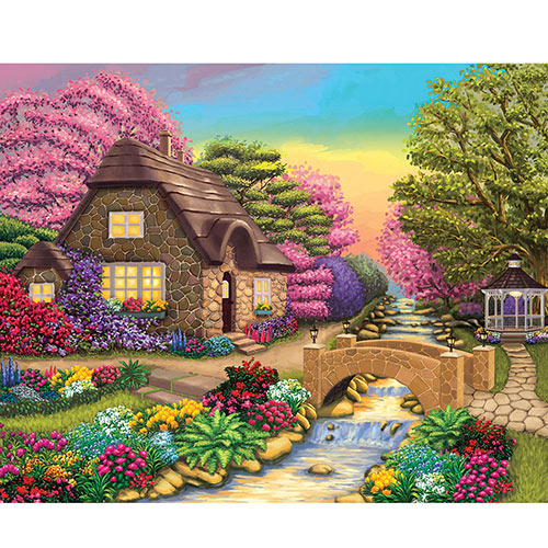 Kodak Secret Cottage 550Piece Jigsaw Puzzle