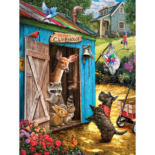 What's the Password? 500 Piece Jigsaw Puzzle