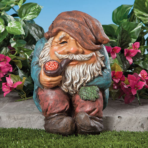 Gnome Shelf Sitter