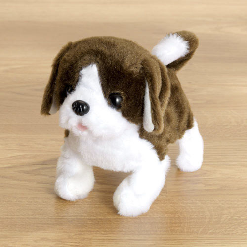 Peppy Puppy Motorized Plush Toy