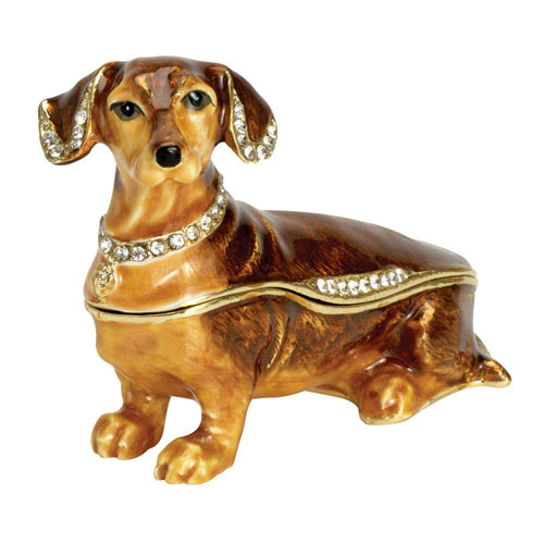 Best Friend Trinket Box: Dachshund
