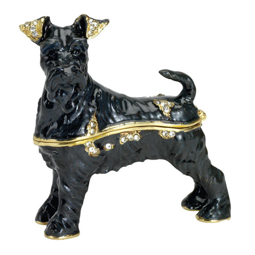 Best Friend Trinket Box: Terrier