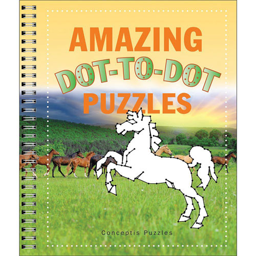 Amazing Dot-to-Dot Puzzles Book