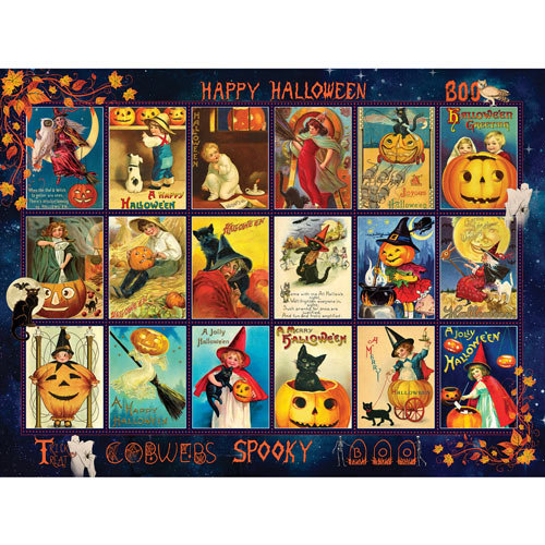 Vintage Halloween 300 Large Piece Jigsaw Puzzle