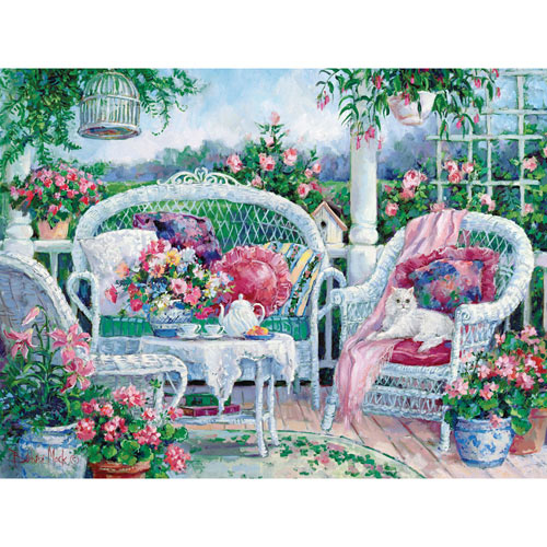 Waiting for Friends 300 Large Piece Jigsaw Puzzle