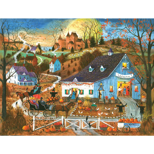 A Magical Evening Visit 300 Large Piece Jigsaw Puzzle