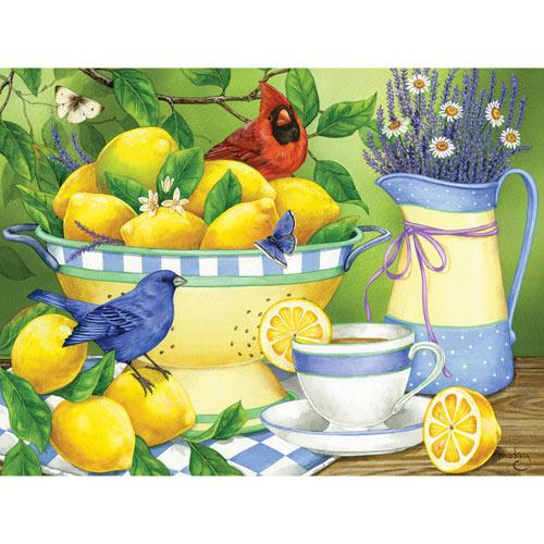 Lemons & Lavender 300 Large Piece Jigsaw Puzzle