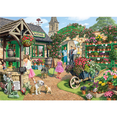 Glenny's Garden Shop 300 Large Piece Jigsaw Puzzle