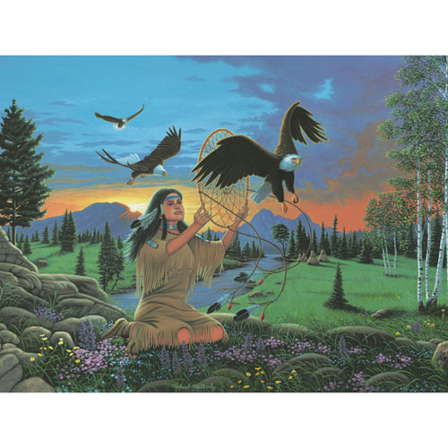 Eagle Dreams 300 Large Piece Jigsaw Puzzle