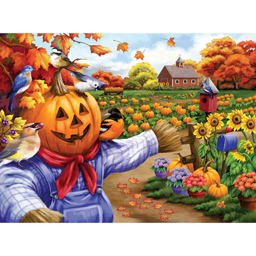 Scarecrow and Friends 500 Piece Jigsaw Puzzle