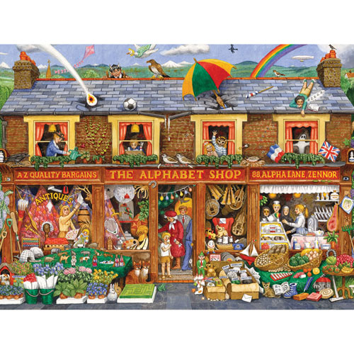 The Big Alphabet Shop 300 Large Piece Jigsaw Puzzle