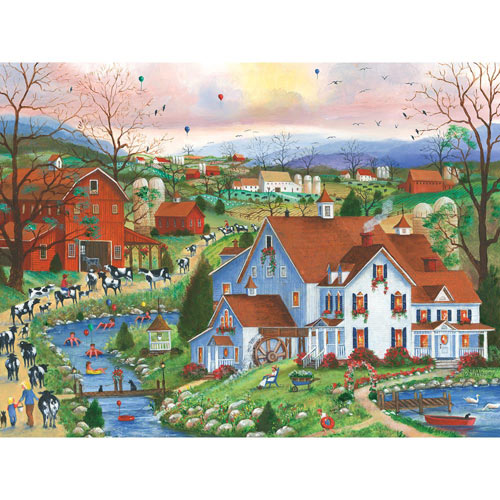 Till the Cows Come Home 300 Large Piece Jigsaw Puzzle