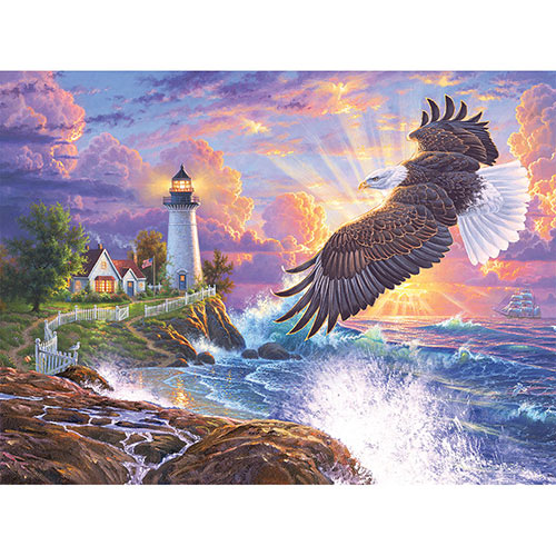The Guiding Light 500 Piece Jigsaw Puzzle