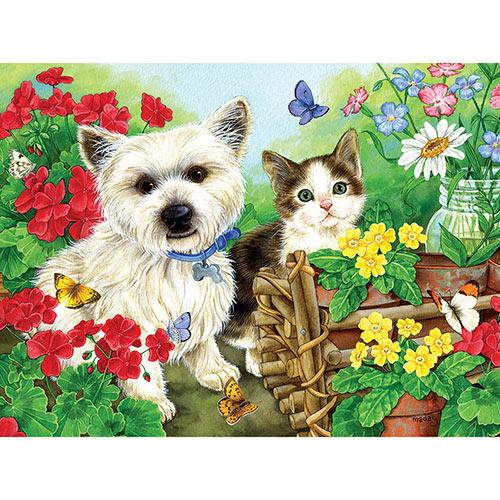 Garden Helpers 1000 Piece Jigsaw Puzzle