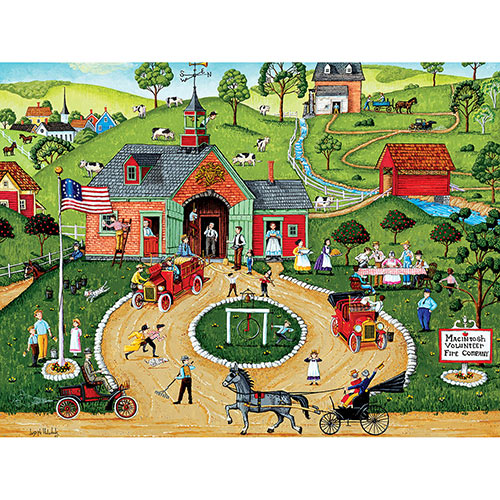 Macintosh Volunteer Fire Company 300 Large Piece Jigsaw Puzzle