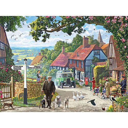 The Country Bus 300 Large Piece Jigsaw Puzzle