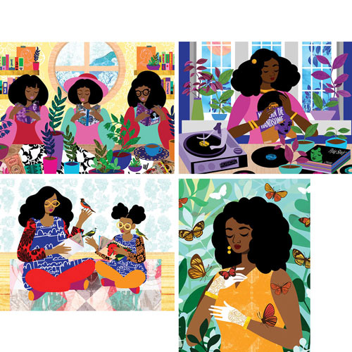 Garden Party 500 Piece Jigsaw Puzzle