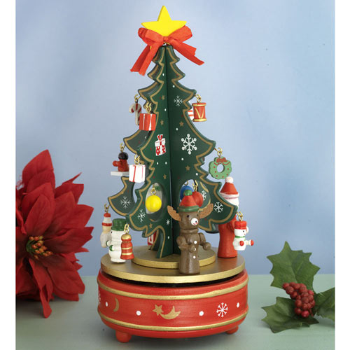 Christmas Tree Music Carousel