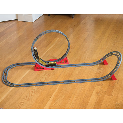 The Great Upside Down Train Set