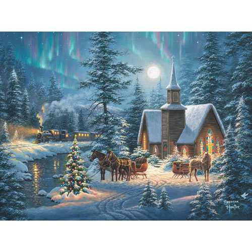 Silent Night 1000 Piece Jigsaw Puzzle