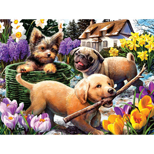 Signs of Spring 500 Piece Jigsaw Puzzle
