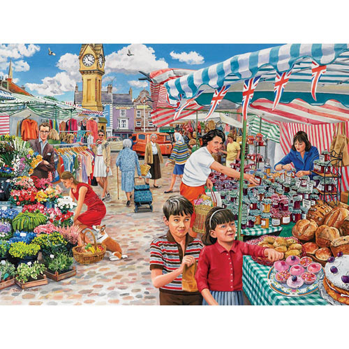 Something Nice for Tea 300 Large Piece Jigsaw Puzzle