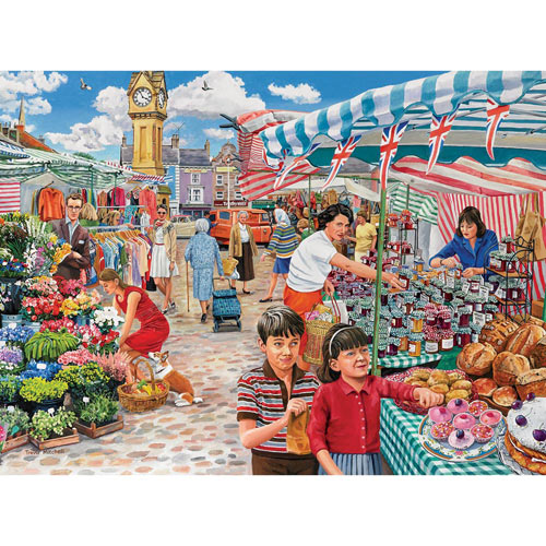 Something Nice for Tea 1000 Piece Jigsaw Puzzle